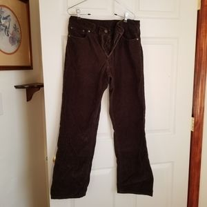 😎 Old Navy brown corduroy pants - 31x32